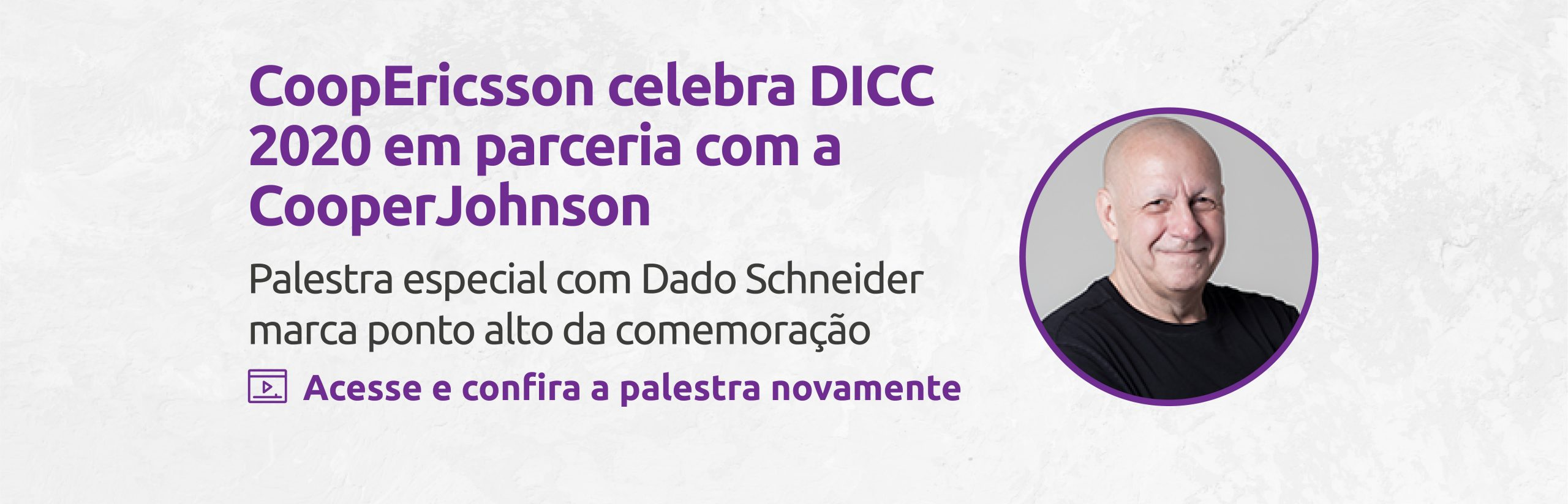 CoopEricsson celebra DICC 2020 em parceria com a CooperJohnson